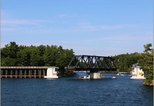 30000 îles, Wasauksing Swing Bridge #16